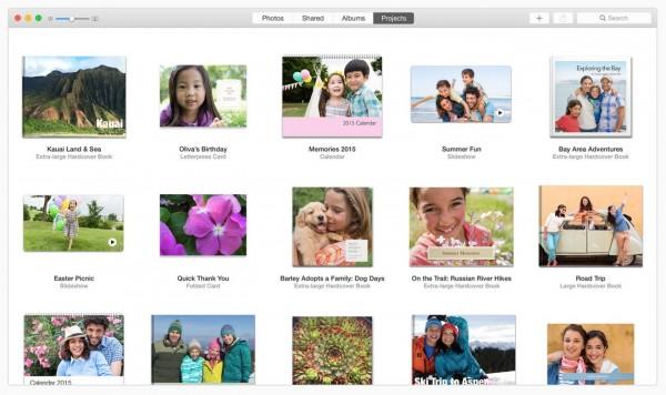 """项目页面-OS X Yosemite 10.10.3 全新""""照片""""应用"""
