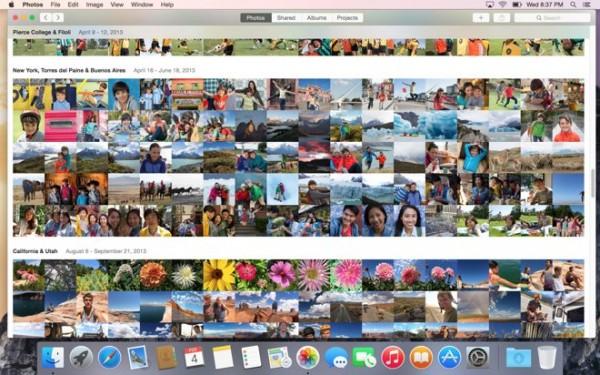 "OS X Yosemite 10.10.3 全新""照片""应用"