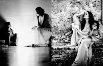 布拉达·皮特拍摄的安吉丽娜·朱莉