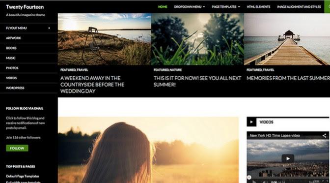 Wordpress2014官方主题:Twenty Fourteen