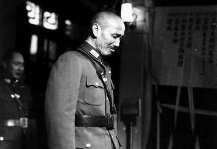 蒋介石败退台湾前满腔悲凉的最后一次巡视